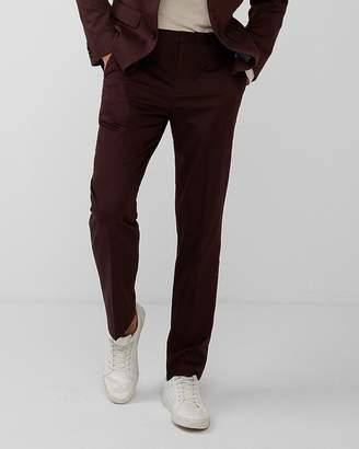 Express Classic Cotton Sateen Suit Pant