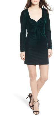 Obey Norwood Velvet Dress
