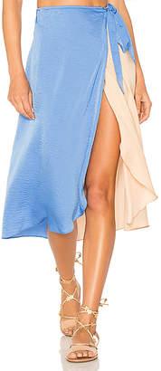 Lovers + Friends Margarita Midi Skirt