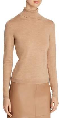 BOSS Famaurie Virgin Wool Turtleneck Sweater