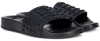 5ecc6e02fac Jimmy Choo Slide Women s Sandals - ShopStyle