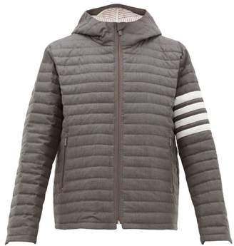 Thom Browne Quilted Wool Twill Jacket - Mens - Grey