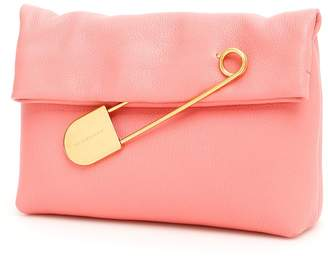 Burberry Leather Pin Clutch