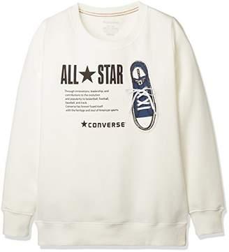 Converse (コンバース) - [キューポップ] シューレース使いプルオーバー(コンバース) TB-1775 レディース オフホワイト 日本 L (日本サイズL相当)