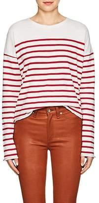 Rag & Bone Women's Halsey Striped Cotton T-Shirt