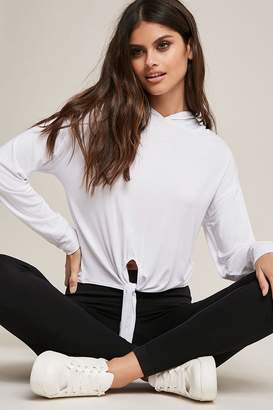 Forever 21 Active Tie-Front Top