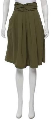 Rachel Comey Pleated Knee- Length Skirt