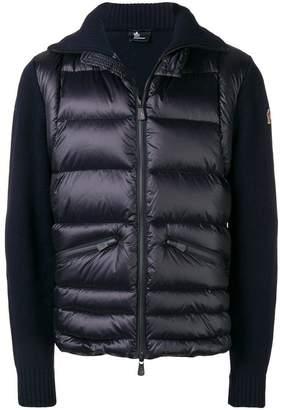 Moncler panelled padded jacket