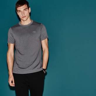 Lacoste Men's SPORT Tennis Micro-Striped Jersey T-shirt