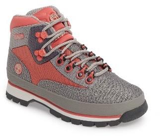 Women's Timberland Jacquard Euro Hiker Boot $119.95 thestylecure.com
