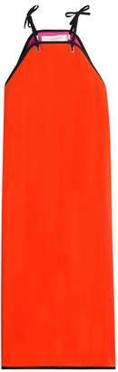 Victoria Beckham Victoria Block Color Midi Dress