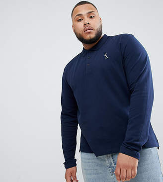Religion Plus Long Sleeve Pique Polo