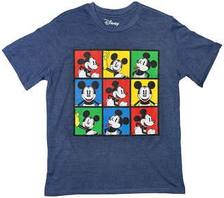 DISNEY MICKEY MOUSE Disney Short Sleeve Crew Neck Mickey Mouse T-Shirt Boys