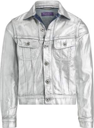 Ralph Lauren Foil Denim Trucker Jacket