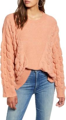 Moon River Puff Stitch Sweater