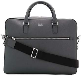 HUGO BOSS signature laptop bag