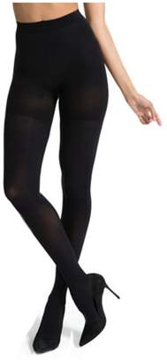 Spanx by Sarah Blakly Lux Lg Control Top Full Opaqu Tights Siz D