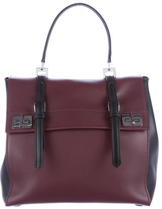 prada Prada City Calf Flap Satchel