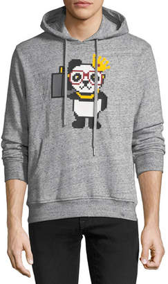 Mostly Heard Rarely Seen Men's Things Done Changed Panda Graphic Hoodie