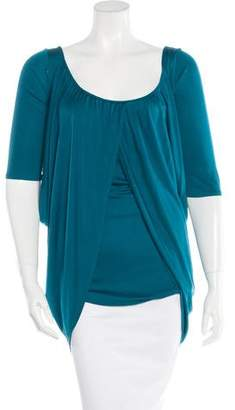 Mara Hoffman Silk Draped Top