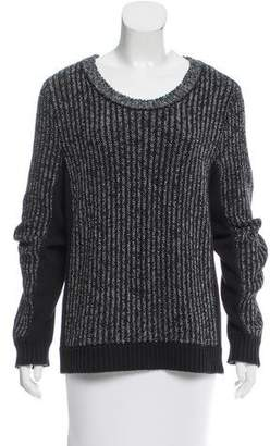 Rag & Bone Cable-Knit Long Sleeve Sweater