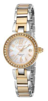 Invicta Women's 17373 Angel Analog Display Swiss Quartz Two Tone Watch
