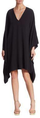Ralph Lauren Collection Gaelle V-Neck Dress