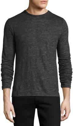 Rag & Bone Men's Owen Long-Sleeve Linen T-Shirt
