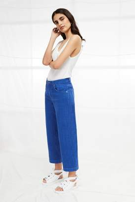 French Connection Cropped Cone Jeans