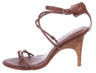 Halston Louisa Leather Sandals