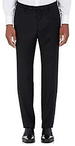 Incotex Men's B-Body Classic-Fit Wool Trousers - Black