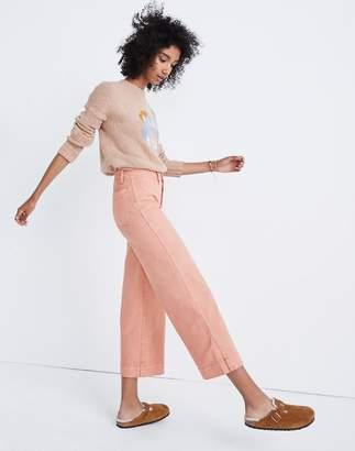 Madewell Emmett Wide-Leg Crop Pants: Button-Front Edition