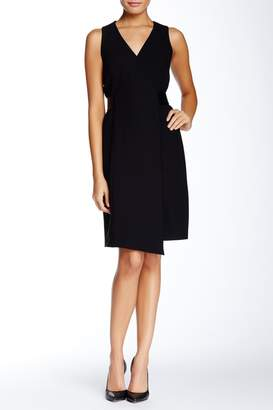 4.collective Crepe Sleeveless Wrap-Dress