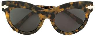 Karen Walker Miss Lark Crazy Tort sunglasses