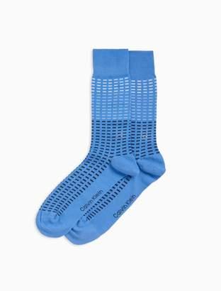 Calvin Klein tonal tiles dress socks