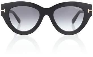 bce7f6ecc70b Tom Ford Black Acetate Sunglasses - ShopStyle Canada