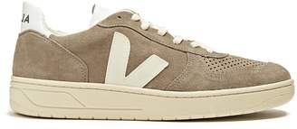 Veja V-10 low-top suede trainers