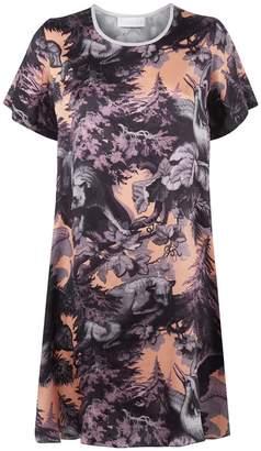 Klements - Frieda Dress In Bialowieza Forest Iced Lilac Print