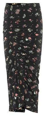 Preen by Thornton Bregazzi Ruched floral pencil skirt