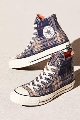 Converse Plaid Hi-Top Chuck