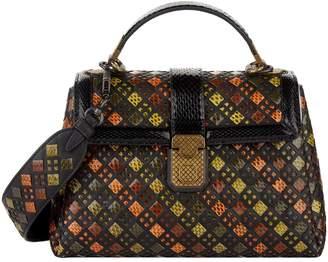 Bottega Veneta Small Ayers Piazza Top Handle Bag