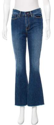 Tory Burch Ryan Mid-Rise Flared Jeans w/ Tags