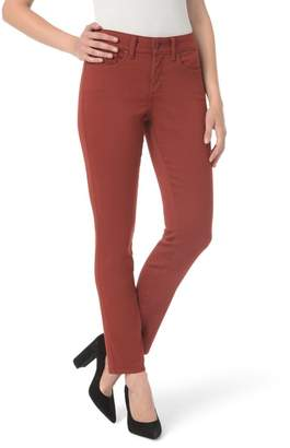 NYDJ Ami High Waist Colored Stretch Skinny Jeans (Petite)