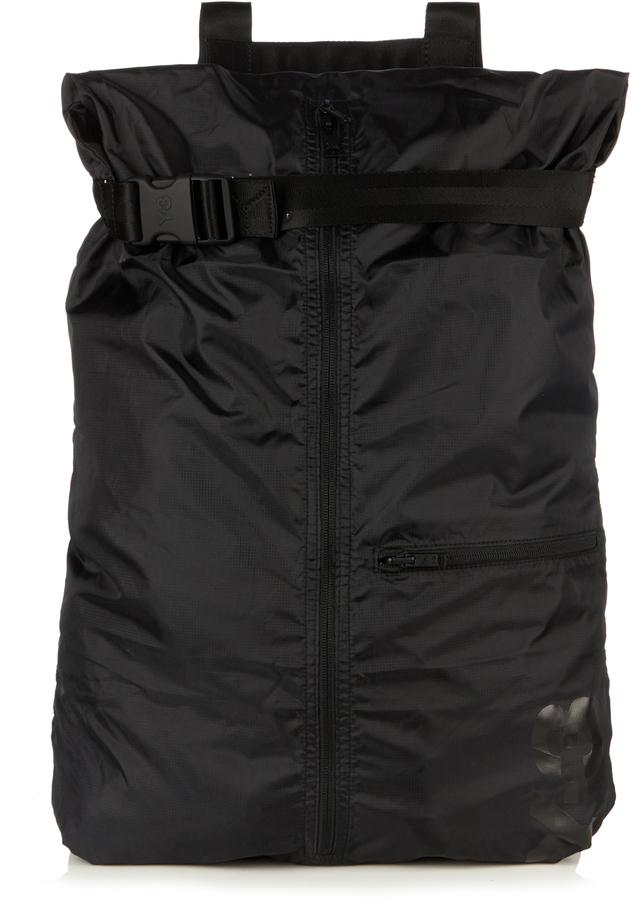 Y-3Y-3 Packable nylon backpack