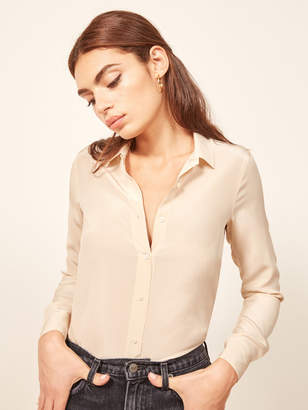 Reformation Ruth Top