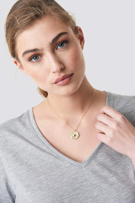 Na Kd Accessories Structured Zodiac Cancer Necklace Gold