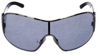 Miu Miu Tinted Shield Sunglasses