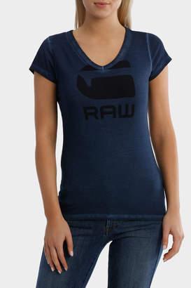 G Star Danarius Slim Short Sleeve V-Neck T-Shirt