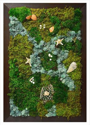 Luludi Living Art Moss Wall Ocean Art