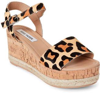 1076447688e Steve Madden Leopard Sandal - ShopStyle
